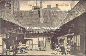 denmark, AALBORG ÅLBORG, Gammel Gaard (1908) Horse Cart
