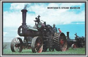 Montana Great Falls Menmke's Steam Museum - [MT-013]