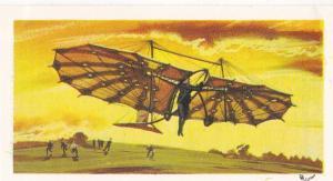 Trade Card Brooke Bond Tea History of Aviation black back reprint No 2  Pilcher