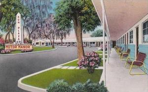 Florida Silver Springs Sun Plaza Motor Manor 1955