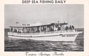 Deep Sea Fishing Daily , Tarpon Springs , Florida , 50-60s