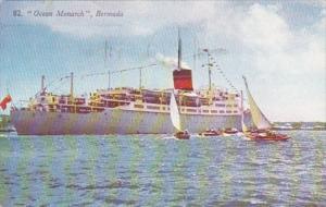 Bermuda Hamilton S S Ocean Monarch 1952