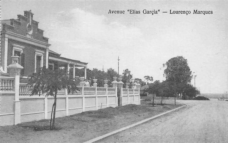 Mozambique Mozambic Maputo, Lourenco Marques, Avenue Elias Garcia