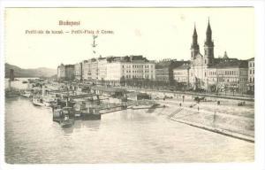 Petofi-ter Es Korzo, Budapest, Hungary, 1900-1910s