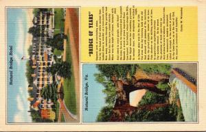 Virginia Natural Bridge & Natural Bridge Hotel 1941