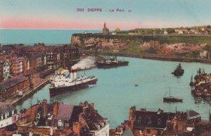 DIEPPE , France ,1900-1910s , Le port