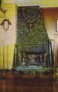 Fireplace At Bookbinder's Restaurant Philadelphia Pennsylvania