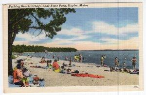 Naples, Maine, Bathing Beach, Sebago Lake State Park