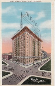CHATTANOOGA , Tennessee , 1930-40s ; Hotel Patten