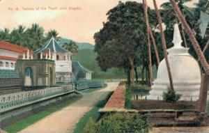 Ceylon Temple of the Tooth with Dagoba 02.97