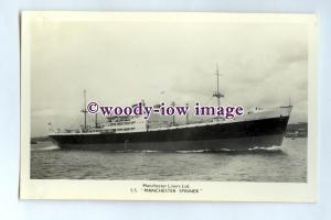 pf0141 - Manchester Liners Cargo Ship - Manchester Spinner built 1952 - postcard