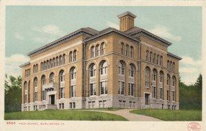 BURLINGTON , Vermont , 1901-07 ; High School