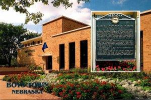 Nebraska Boys Town Visitors Center and Historical Marker