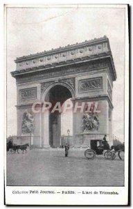 Old Postcard Paris L & # Triumph 39Arc