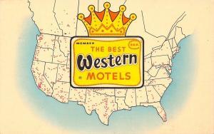 Evanston Wyoming~Dunmar Motel~1910 Postcard