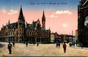 Belgium Brussells La Poste a Marche aux Grains