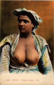 CPA MAROC Femme arabe ETHNIC NUDE (574020)