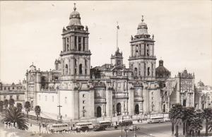 Mexico Catedral de Mexico Mexico City Real Photo