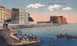 Italy Napoli Naples Castel dell' Ovo