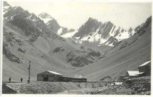 RPPC Chile, Cordillera le Los Andes, Estacion Caracoles Col. Tajardo RR