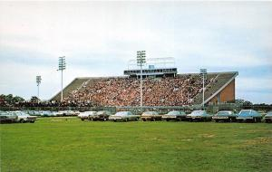 A50/ DeKalb Illinois Il Postcard Football Stadium Northern Illinois University