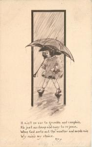 Cobb Shinn~Lil Girl~Umbrella~No Use to Grumble~Easy to Rejoice~God Sent Rain~'09