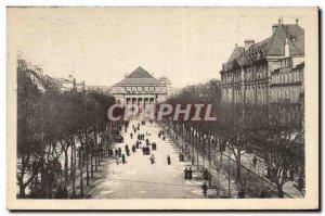 Old Postcard Strasbourg Place Broglie