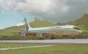 Air New ZealandDC-8 Jet Airplane , Publisher Air New Zealand , 70-80s