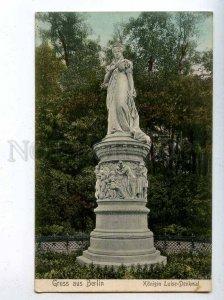 206590 GERMANY Gruss aus BERLIN Konigin Luise Vintage postcard