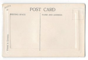 Valentine Bluebird Add On Applied Felt Heart Glitter Vintage Novelty Postcard
