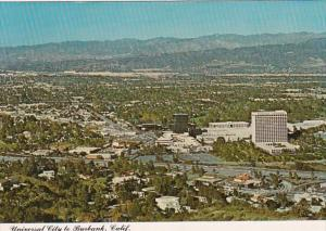 California Burbank Universal City Aerial View