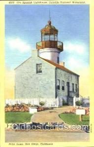 Point Loma, San Diego, CA Light House Lighthouse Unused