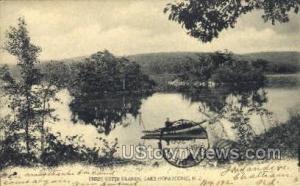 Three Sisters Islands  Lake Hopatcong NJ Unused
