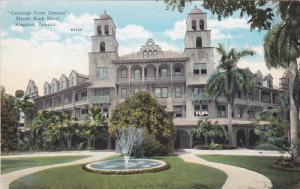 KINGSTON, Jamaica, 1900-1910's; Myrtle Bank Hotel, Fountain