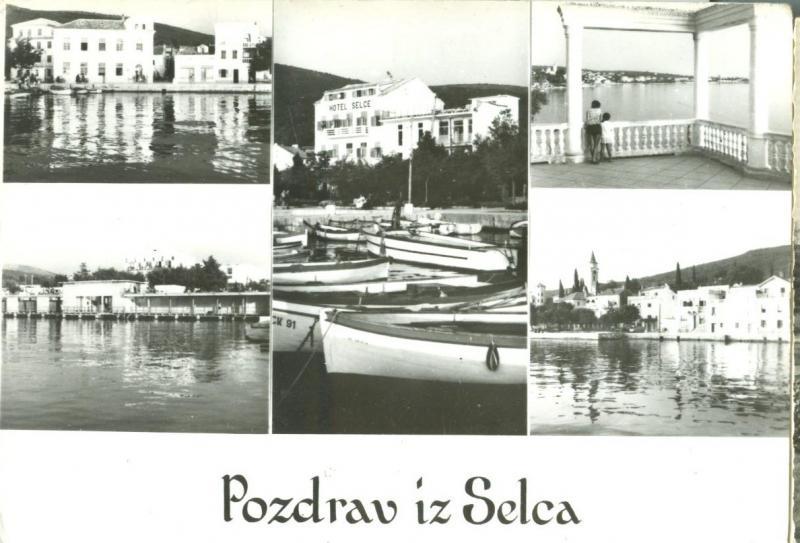 Croatia, Pozdrav Iz Selca, unused real photo Postcard