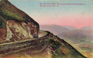 France Puy de Dome Route automobile du puy de dome 01.62