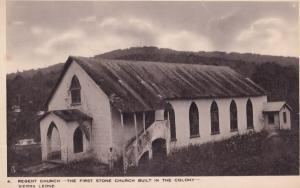 Regent Church Sierra Leone Africa Old Tucks Postcard