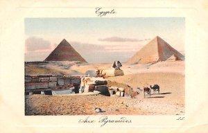 Aud Pyramids Egypt, Egypte, Africa Unused