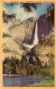 CA - Yosemite Valley. National Park. Yosemite Falls