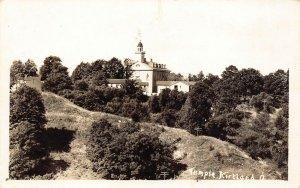LP71 Kirtland  Ohio RPPC Postcard  Mormon Temple