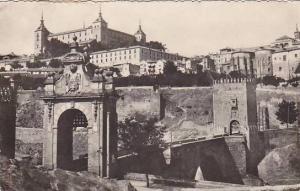 RP, Puente De Alcantara Y Alcazar Antes Del Asedio, Toledo, Spain, 1920-1940s