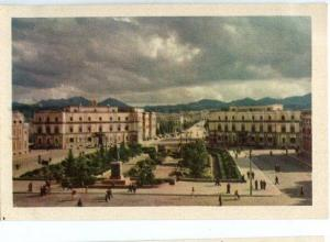 130967 ALBANIA TIRANA old postcard