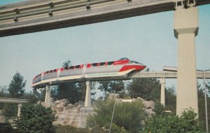 DISNEYLAND, 1950s-1960s; America's First Daily-Operating Monorail Train