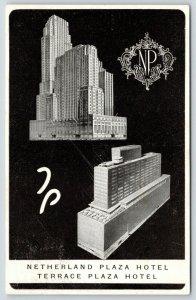 Cincinnati~Netherland,Terrace Plaza~Art Nouveau~MONY Insrnc~Rodberg~Walkir 1954