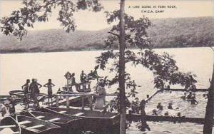 Connecticut A Lake Scene at Fern Rock YWCA Artvue