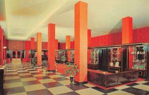 Little Rock Arkansas Marion Hotel Coffee Shop Vintage Postcard K35351