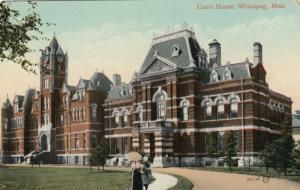 WINNIPEG , Manitoba, 1900-10s ; Court House
