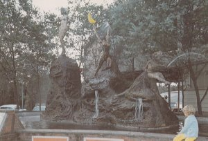 Three Sisters Fountain , SYDNEY , Australia , 1960-80s