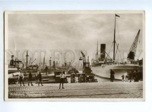 151668 Netherlands ROTTERDAM Havengezicht Ship CHANGUINOLA OLD