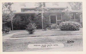 Original Black Water Baths Alden New York